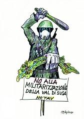 NOTAV, NO TAV, militarizzazione valsusa